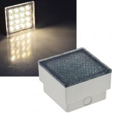 """LED Pflasterstein """"BRIKX 10"""" warmweiß"""