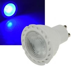 "LED Strahler GU10 ""LDS-50"" blau"