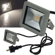 "LED-Fluter SlimLine ""CTF-SLT 10"" silber"