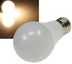 """LED Glühlampe E27 """"G70"""" 3-Stufen-Dimm"""