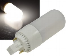 "LED Leuchtmittel ""G24-08"" neutralweiß"