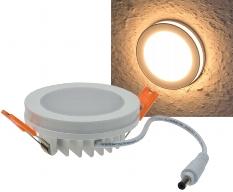 LED Einbaustrahler mit Leuchtkranz