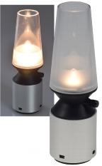LED Deko-Leuchte mit Flackerlicht