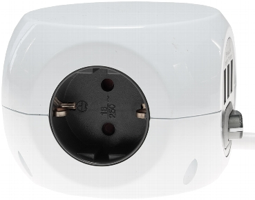 Steckdosen-Kubus 3x Schutzk + 3x USB