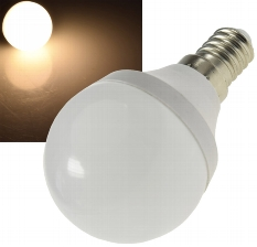 "LED Tropfenlampe E14 ""T70"" warmweiß"