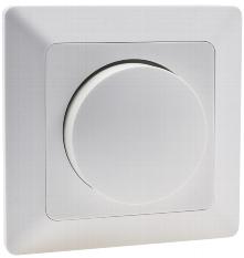 MILOS Dimmer für LED Lampen weiß matt