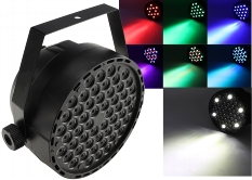 "LED-Discostrahler ""PARTY 54 RGB-W"""