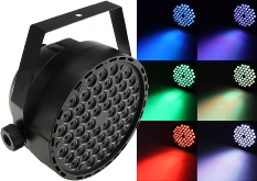 "LED-Discostrahler ""PARTY 54 RGB TCL"""