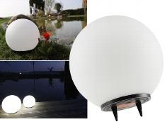LED Solar Kugelleuchte 20cm Ø