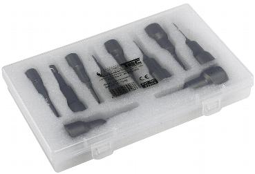 Bitsatz Steckschlüssel MAGNETIC 10-tlg.