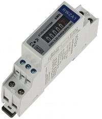 Wechselstromzähler für DIN Trägerschiene