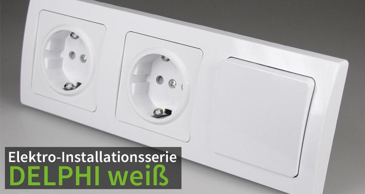 Elekro-Intallationsserie DELPHI